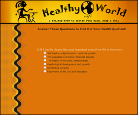 healthy world cafe site