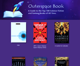 outerspacebook.net - an online guide to science fiction